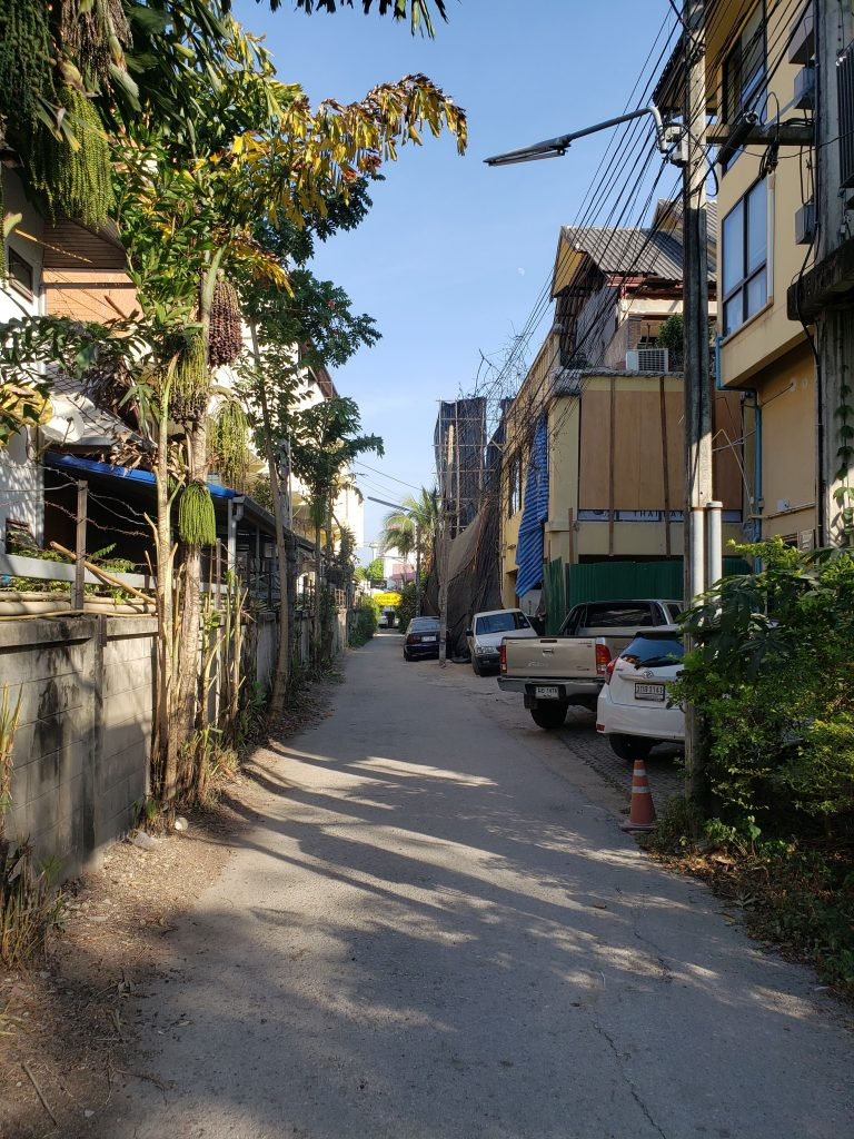 Chiang Mai, Thailand is perfect for urban orienteering.