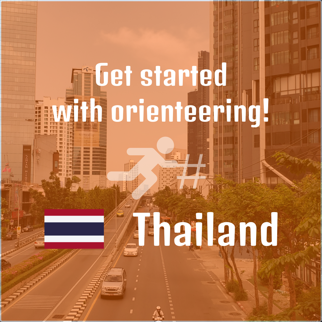 Get started with orienteering in Thailand